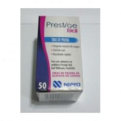Tiras Reactivas Nipro Prestige, caja x 50 Unid.