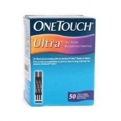 Tiras Reactivas One Touch, caja x 50 Unid.