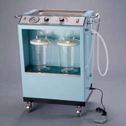 Aspirador de Secreciones Rodable, Cap. 6 litros Gemmy